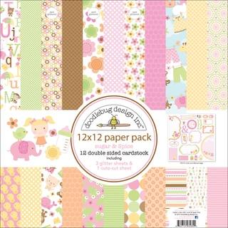 """Sugar & Spice Paper Pack 12""""X12in"""