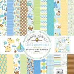 "Snips & Snails Paper Pack 12""X12in"