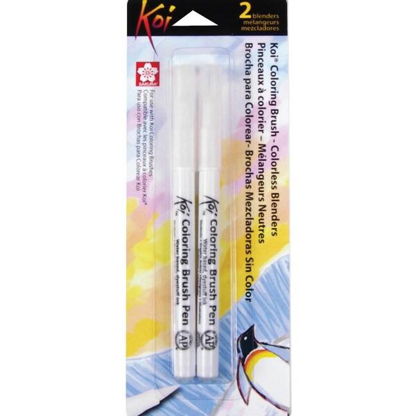 Sakura Koi Coloring Brush Colorless Blender Marker (Two/Pkg)