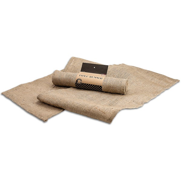 "Burlap Table Runner 14""X58"""