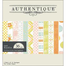 Delightful Bundle Textured Cardstock Pack 6