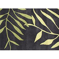 Alliyah Handmade Tender Green New Zealand Blend Wool Rug (8' x 10')
