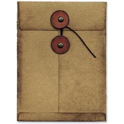 Sizzix Movers & Shapers Large Base Die By Tim Holtz-Pocket Envelope