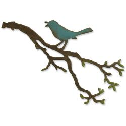 Sizzix Bigz Die By Tim Holtz-Bird Branch