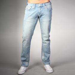 Laguna Beach Jean Co. Men's Casual Phantom Pocket Dark Blue Slim-Fit Hermosa Beach Denim