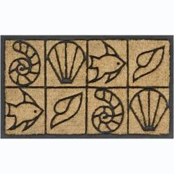 Creative Coir/Rubber Indoor/Outdoor Door Mats (1'5