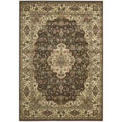 Nourison Persian Arts Brown Rug (5'3 x 7'5)