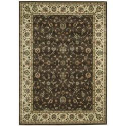 Nourison Persian Arts Chocolate Rug (5'3 x 7'5)
