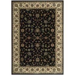 Nourison Persian Arts Black Rug (5'3 x 7'5)