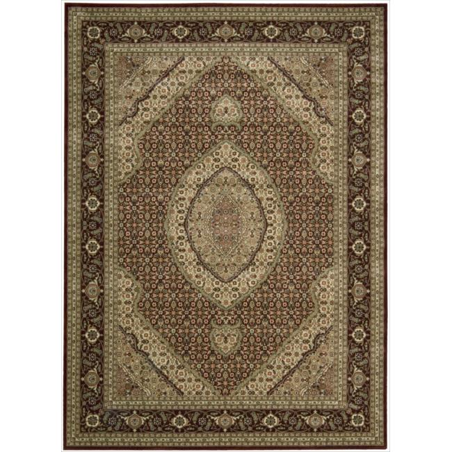 Nourison Persian Arts Burgundy Rug (7'9 x 10'10)