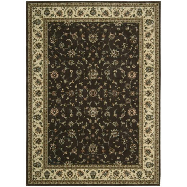 Nourison Persian Arts Brown Rug (7'9 x 10'10)