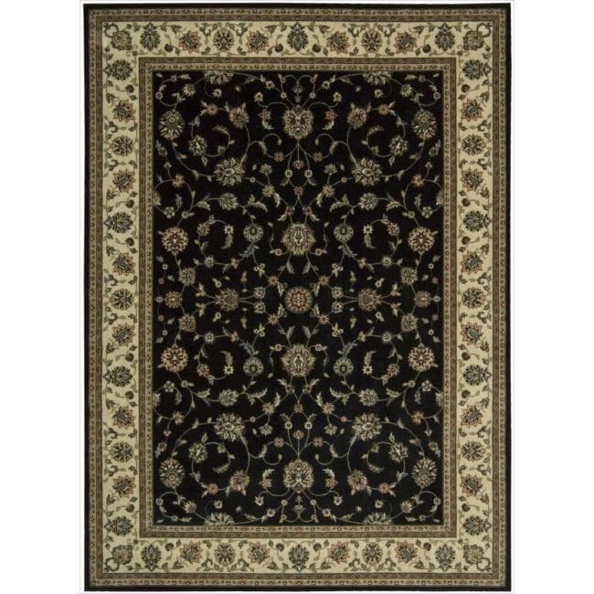 Nourison Persian Arts Black Rug (7'9 x 10'10)