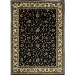 Nourison Persian Arts Black Rug (7'9 x 10'10)