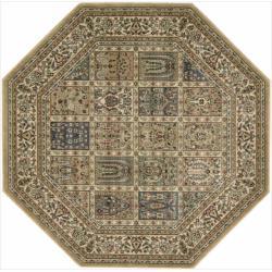 Nourison Persian Arts Beige Rug (5'3 x 5'3) Octagon