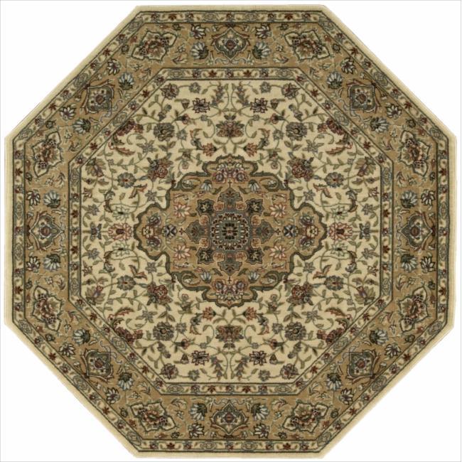 Nourison Persian Arts Ivory Rug (5'3 x 5'3) Octagon