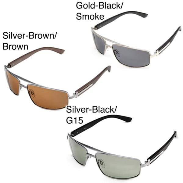 Hot Optix Men's Metal Wrap Sunglasses