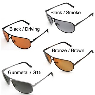 Hot Optix Large Men's Polarized Aviator Sunglasses