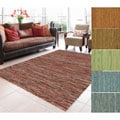 Bellatrix Hand Woven Wool Brick Rug (3'6 x 5'6)