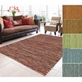 Bellatrix Woven Wool Brick Rug (5'0 x 7'6)