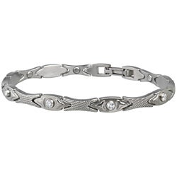 Sabona Lady Executive Matte Gem Magnetic Bracelet