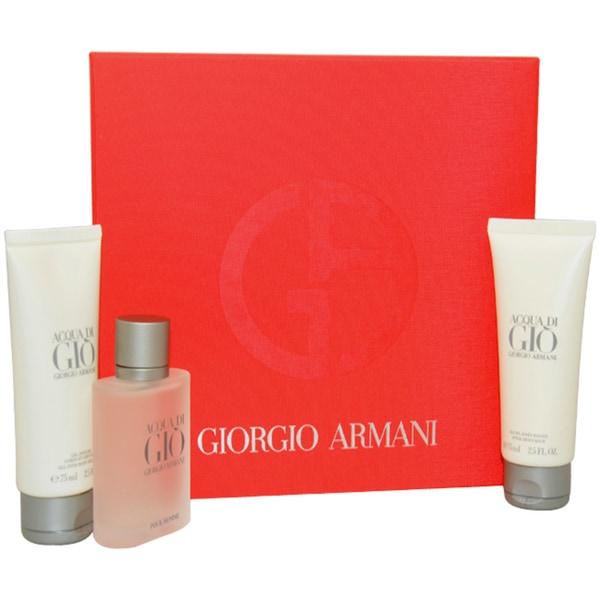 Giorgio Armani 'Acqua Di Gio' Men's 3-piece Fragrance Gift Set