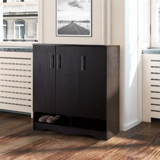 Enitial Lab Maxwell Black Seven-shelf Cabinet