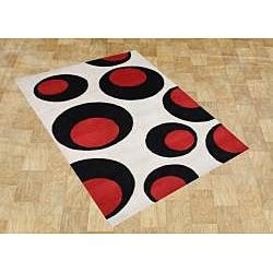 Alliyah Hand Made Wool Rug (8' x 10')