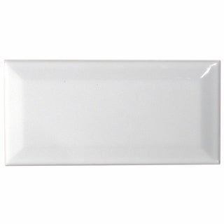 Somertile Blanco Ceramic Wall Tile (Case of 64)