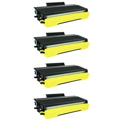 Brother TN650 Compatible Black Toner Cartridges (Pack of 4)