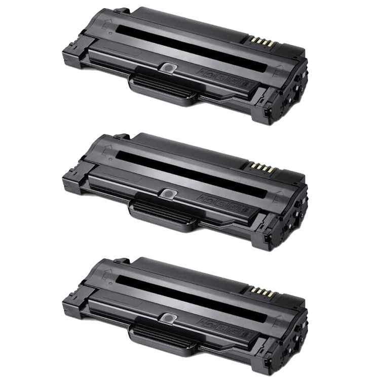 Samsung ML2525 Compatible Black Toner Cartridges (Pack of 3)