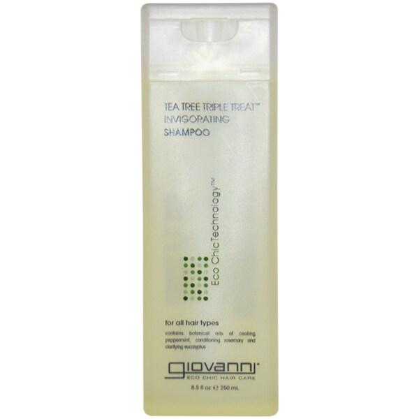 Giovanni Tea Tree Triple Treat 8.5-ounce Invigorating Shampoo