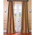 Signature Stripe Mirage Faux Silk Taffeta Curtain Panel