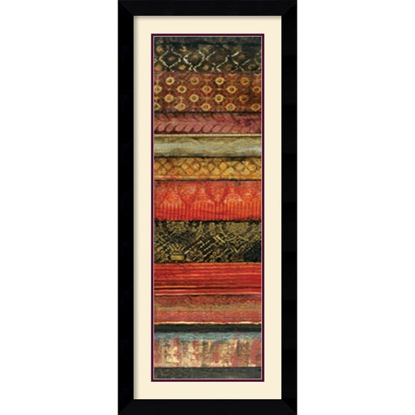 Douglas 'Vibrant Nuances I' Framed Art Print