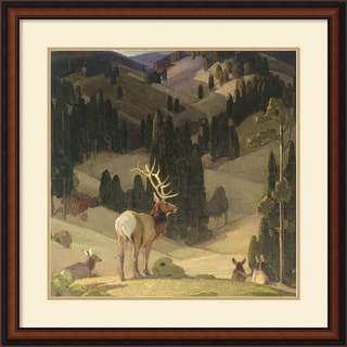 W. Herbert Dunton 'October in the Mountains' Framed Art Print
