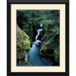 William Neill 'Avalanche Creek' Framed Art Print