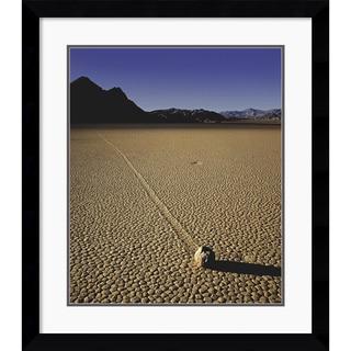 Will Connor 'Moving Rock' Framed Art Print