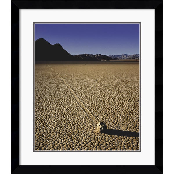 Will Connor 'Moving Rock' Framed Art Print