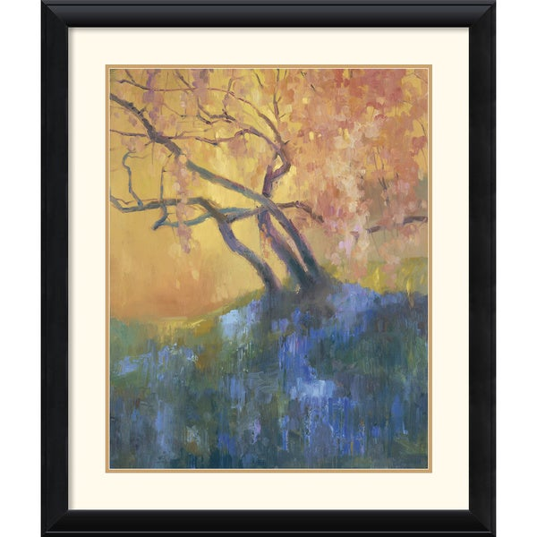 Dawna Barton 'Flowering Cherry' Framed Art Print