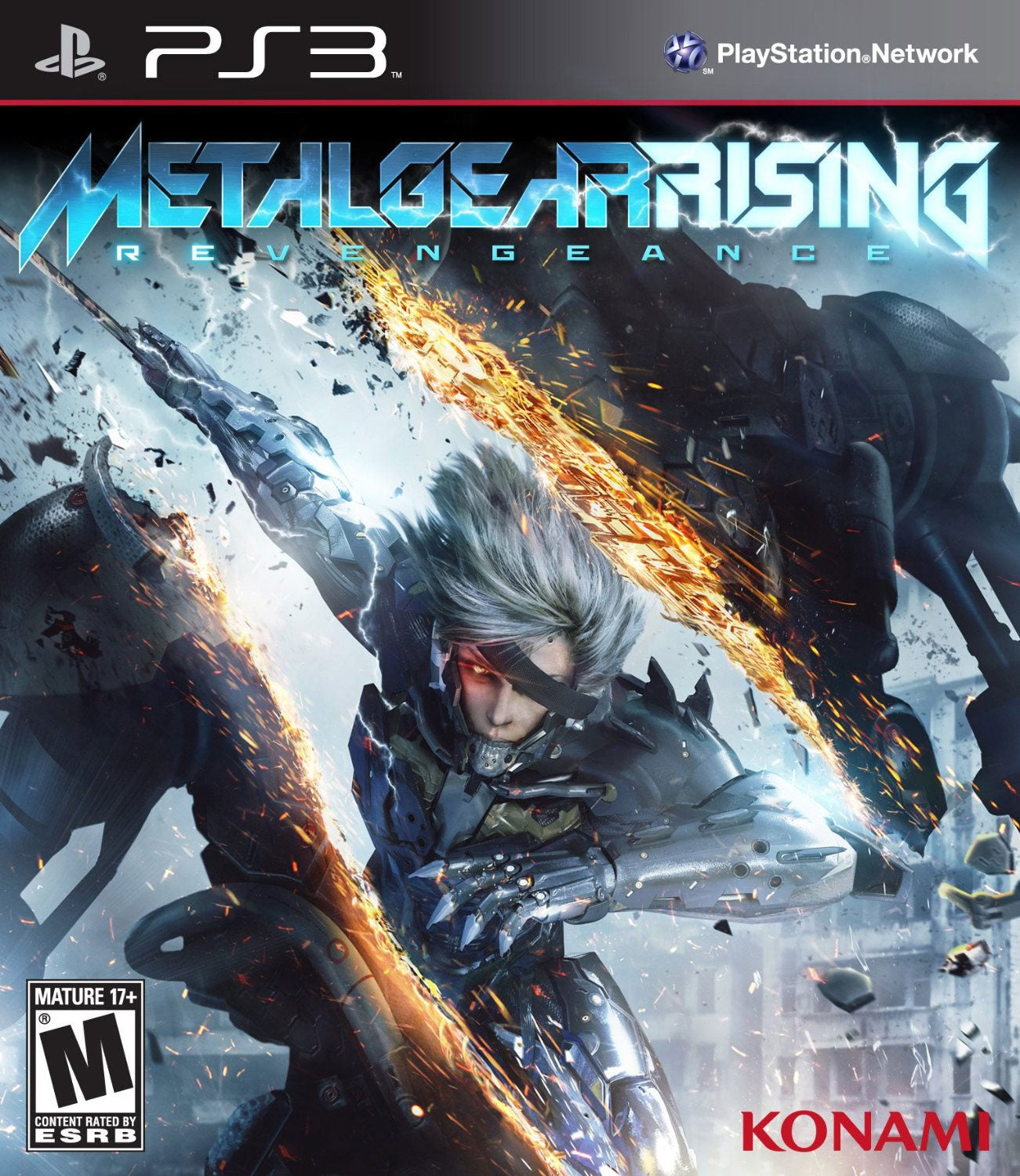 PS3 - Metal Gear Rising Revengeance