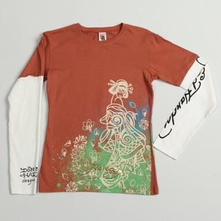 Ed Hardy Girl's 'Geisha Tiger' T-shirt