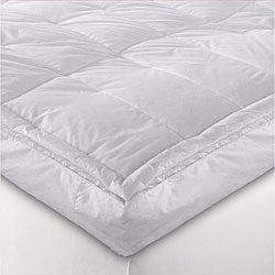 Luxurious 3-inch Feather and Down Pillowtop Baffle Box Featherbed