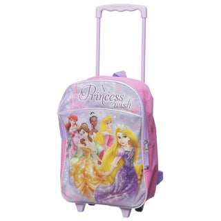Disney Princess Kids Rolling Backpack
