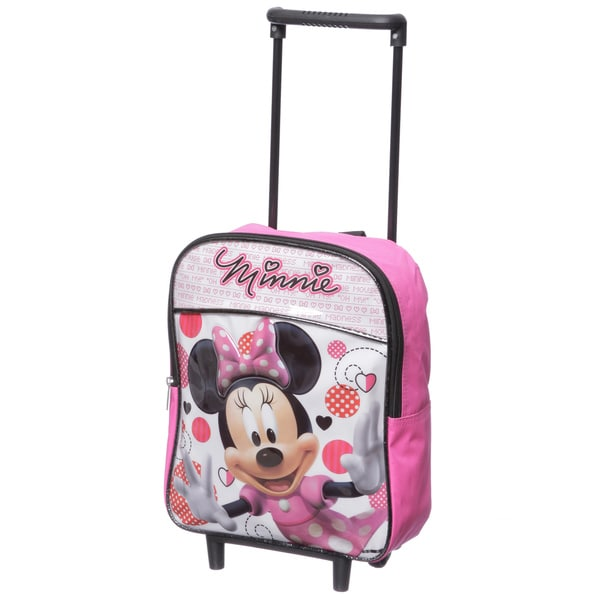 Disney Minnie Mouse 12-inch Kids Rolling Backpack