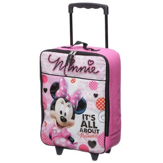 Disney Minnie Mouse Kids Rolling Carry On Upright