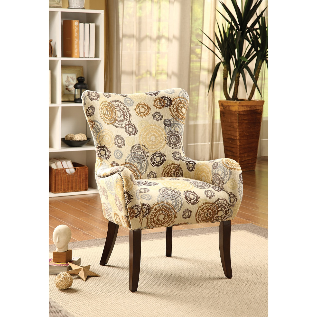 Gabir accent chair for Great living room chairs