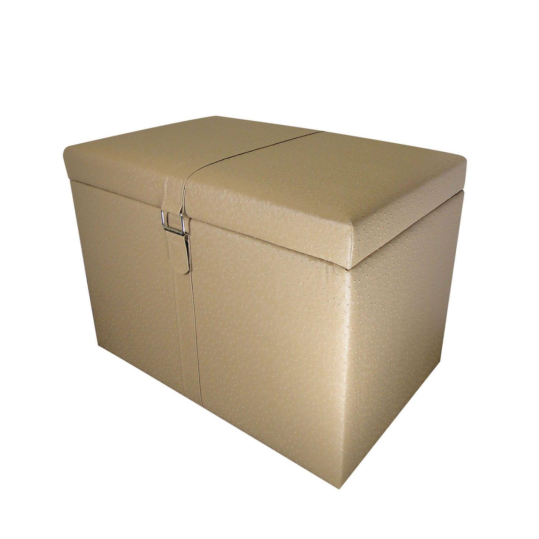 rai beige storage ottoman 14325990