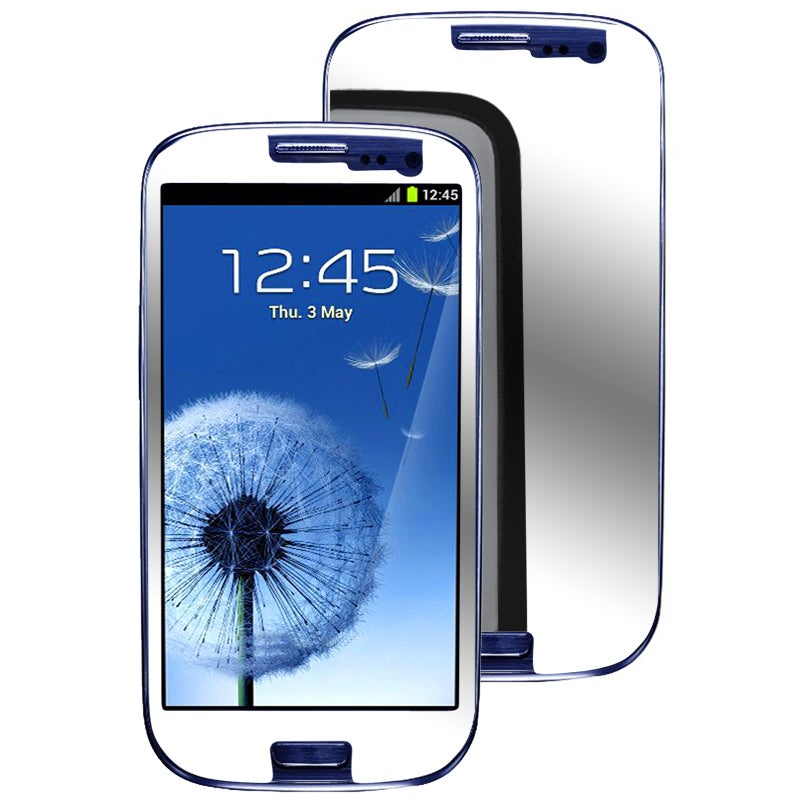 INSTEN Mirror Screen Protector for Samsung Galaxy S III i9300