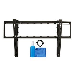 "Arrowmounts Tilt TV Mount for 37"" - 65"" TVs w/ 6' HDMI Cable/ Cleaning Solution & Cloth AM-SLT3765BUN"