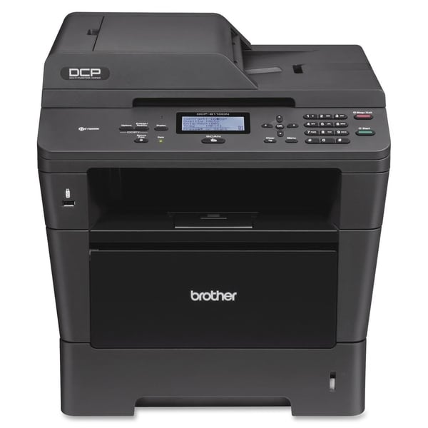 Brother DCP-8110DN Laser Multifunction Printer - Monochrome - Plain P