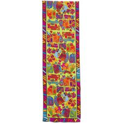 Laurel Burch Scarves-Karly's Cats Classic